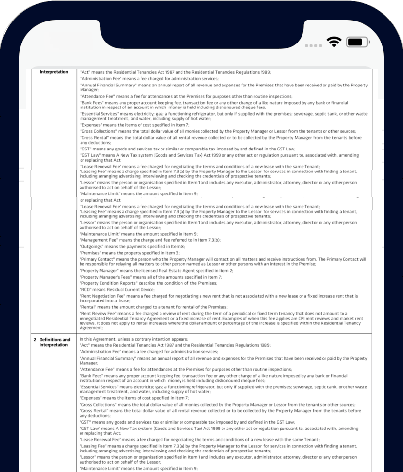 Pdf on iphonex